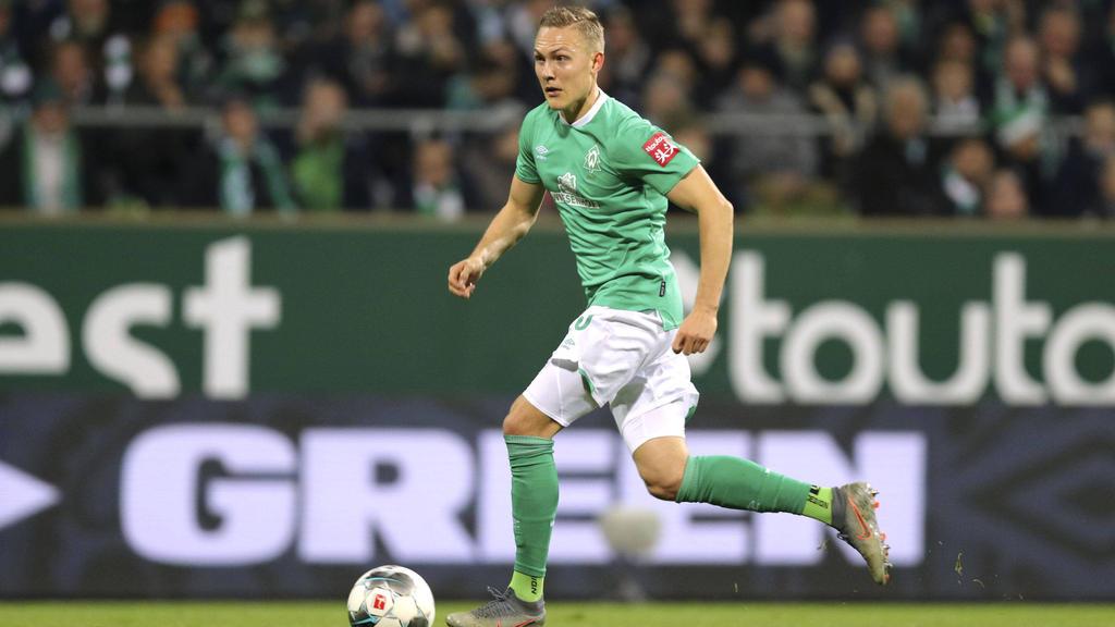 Steht bei Werder Bremen vor der Rückkehr auf den Platz: Ludwig Augustinsson