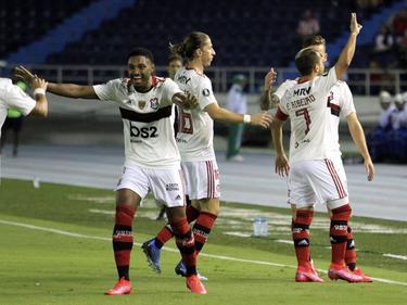 Flamengo fue efectivo lejos de casa.