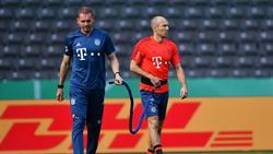 Im Mai 2019 noch gemeinsam für den FC Bayern aktiv: Holger Broich und Arjen Robben