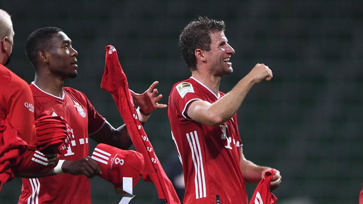 """FC Bayern: Ribéry begrüßt Alaba und Müller im """"Neuner-Klub"""""""