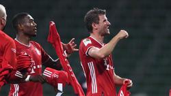 David Alaba und Thomas Müller gewannen mit dem FC Bayern neun Meisterschaften