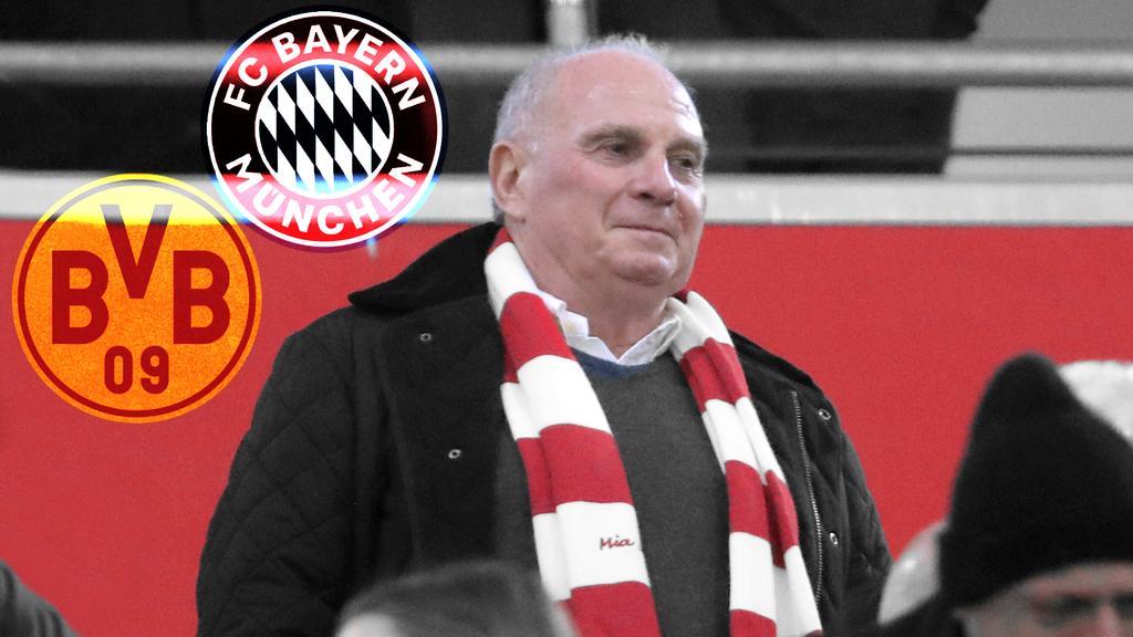 Bayern Münchens Ex-Präsident Uli Hoeneß hat eine Debatte um die Vereinspolitik des BVB ausgelöst