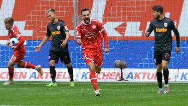 Fortuna Düsseldorf rettete einen Punkt gegen Jahn Regensburg