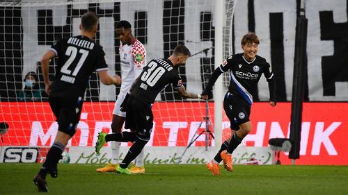 Arminia Bielefeld schlägt den FSV Mainz 05