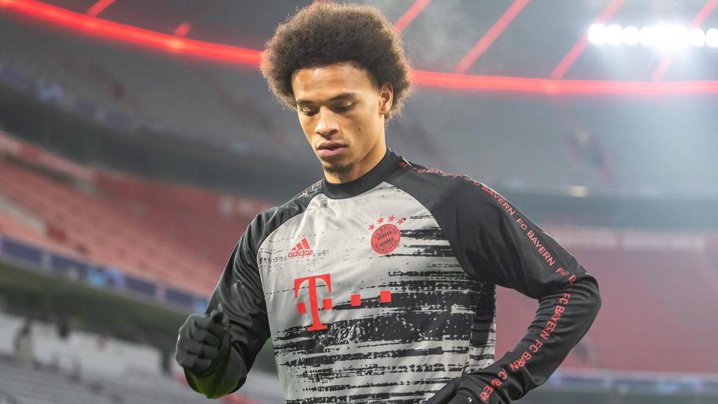 Leroy Sané hat beim FC Bayern derzeit keinen Stammplatz