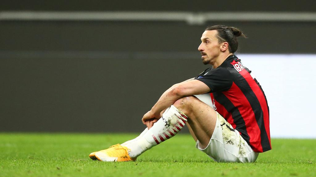 Der AC Mailand scheiterte an Manchester United
