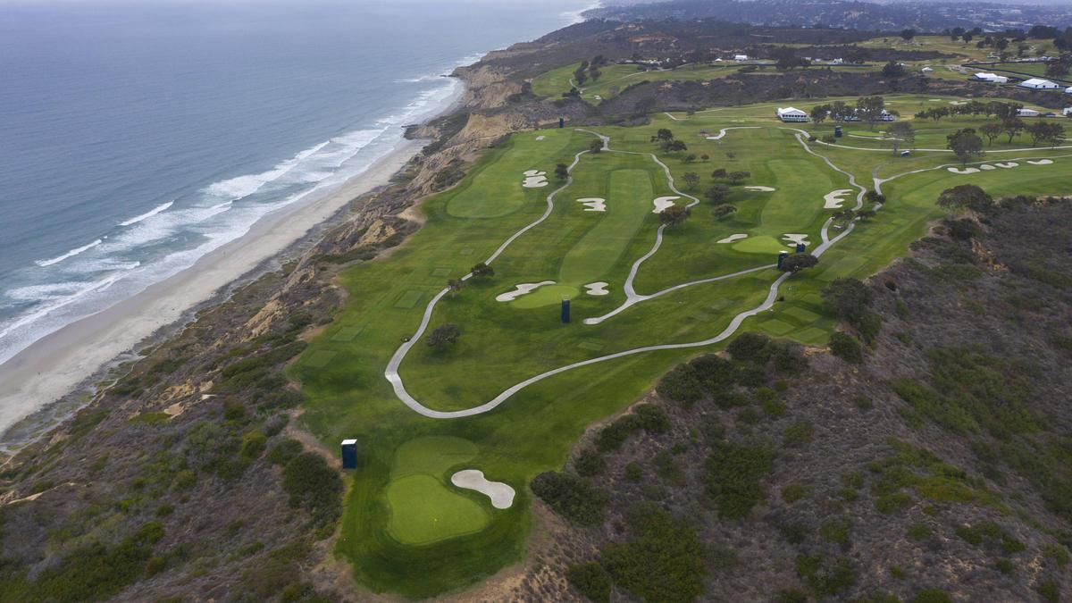 Auf dem Torrey Pines Golf Course findet ab Donnerstag die US Open statt