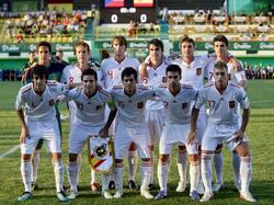 Startelf der spanischen U19 im EM-Finale 2011