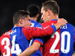 Der FC Basel führt die Tabelle der Super League an