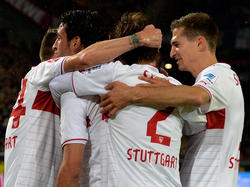 VfB feiert Haggui