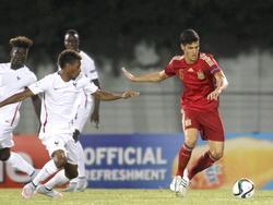 Mikel Merino im U19-EM-Spiel gegen Frankreich