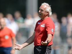 VfR-Trainer Vollmann betrachtete die Niederlage mit Ratlosigkeit
