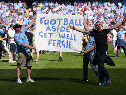 Genesungswünsche aus der gesamten Fußball-Welt für Sir Alex Ferguson