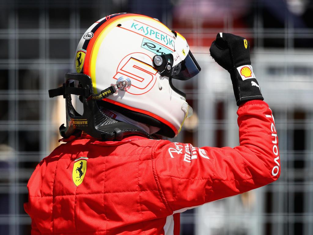 Sebastian Vettel dominierte das Rennen in Kanada nach Belieben