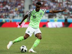 Nigerias Kapitän John Obi Mikel will trotz eines Handbruches gegen Argentinien auflaufen