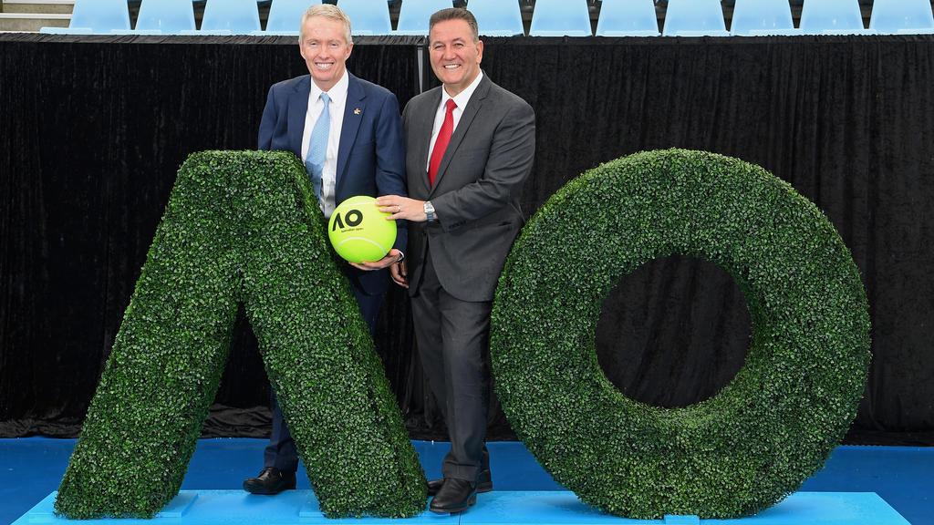 Die Planungen für die bevorstehenden Australian Open laufen auf Hochtouren