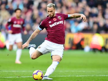 Wie lange kickt Marko Arnautović noch für West Ham? © Getty Images/Alex Broadway