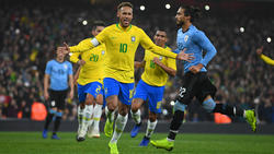 Neymar traf zum entscheidenden 1:0