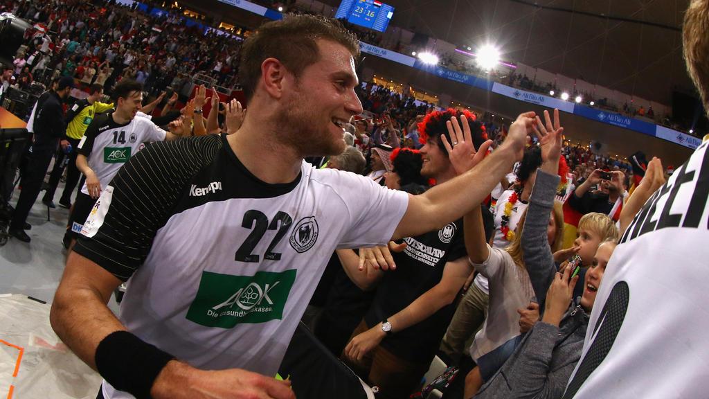 Michael Kraus wurde mit der Handball-Nationalmannschaft Weltmeister