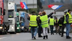"""Die """"Gelben Westen"""" protestieren in Frankreich"""