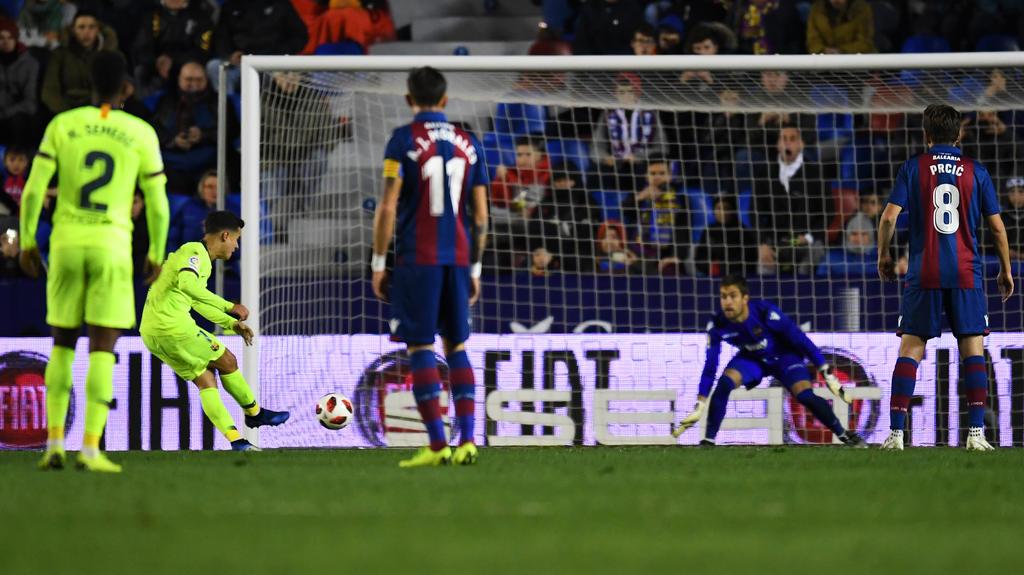 El Barcelona puede quedar apeado de la Copa del Rey. (Foto: Getty)