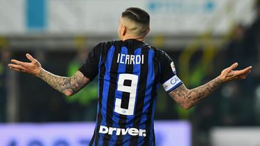 Icardi ha dejado de ser el capitán del Inter de Milán. (Foto: Getty)