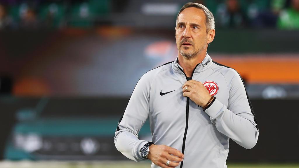 Adi Hütter ging mit Eintracht Frankfurt mit 1:6 in Leverkusen unter