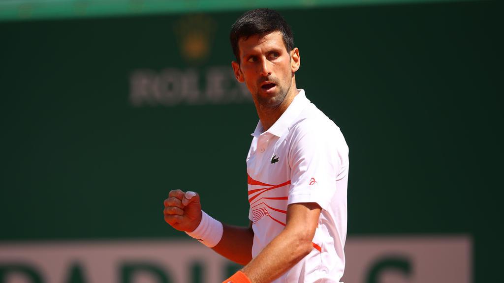 Novak Djokovic holte seinen 74. Titel auf der ATP-Tour