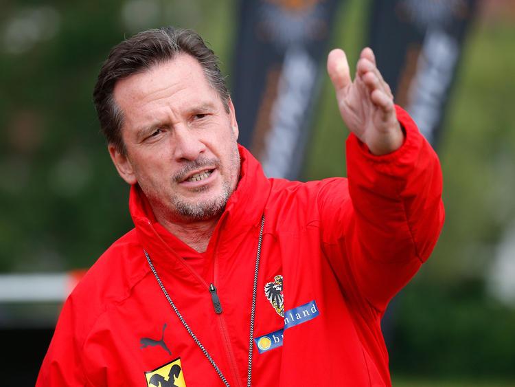 U21-Teamchef Werner Gregoritsch lobt sein vom A-Team gekommenes Trio