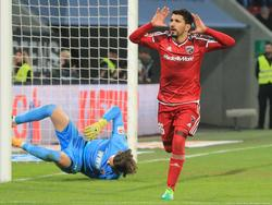 Almog Cohen (r.) traf im Derby gegen Augsburg doppelt