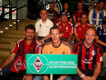 Die Sportfreunde Dorfmerkingen freuen sich auf das Spiel gegen RB Leipzig