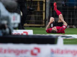 Mike Frantz verletzte sich im Spiel gegen Schalke