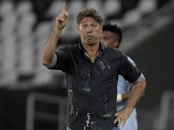 Renato Gaúcho quiere ser en el primer brasileño en levantar una Libertadores como jugador y entrenador. (Foto: Getty)