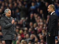 Das Manchester-Derby ist das 20. Duell zwischen José Mourinho und Pep Guardiola