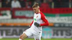 Augsburg-Stürmer Finnbogason klagt über Beschwerden im Adduktorenbereich