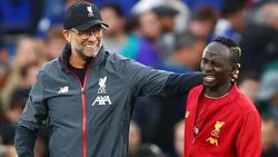 Konnte zufrieden sein: Liverpool-Teammanager Jürgen Klopp (li.)