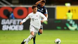 Lucas Hernández wurde in Paderborn schon zur Halbzeit ausgewechselt