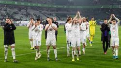 Die Bremer bejubelten nach langer Zeit wieder einen Bundesliga-Sieg