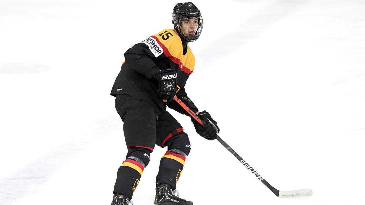 Luca Münzenberger wurde von den Edmonton Oilers gedraftet