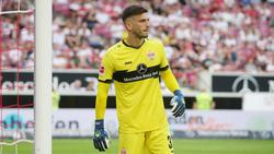 Fabian Bredlow möchte sich beim VfB Stuttgart durchsetzen