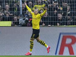 Erling Håland ist bei Borussia Dortmund aktuell nicht zu stoppen