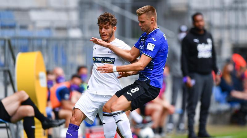 Arminia Bielefeld und der VfL Osnabrück trennten sich remis