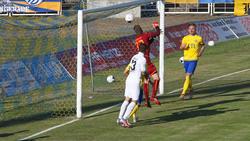 Fabian Guderit ließ den Ball ins Tor fallen