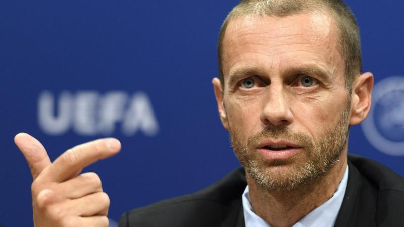 Aleksander Ceferin ist der Präsident der UEFA