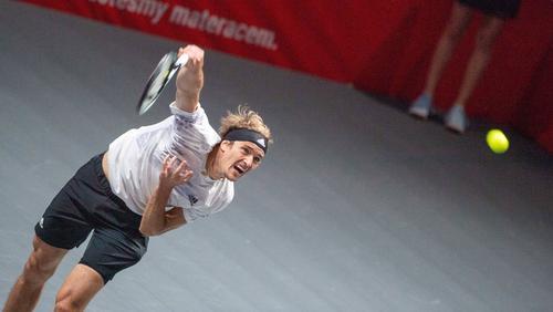 Alexander Zverev steht im Finale von Köln