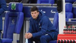 Schalke-Neuzugang Klaas-Jan Huntelaar verfolgte die Niederlage gegen Köln im Stadion