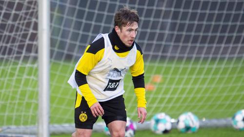 Felix Passlack kann sich momentan nur im BVB-Training empfehlen
