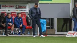 Dimitrios Grammozis unter mit dem FC Schalke klar in Freiburg