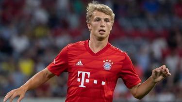 Fiete Arp konnte im Trikot des FC Bayern noch nicht richtig überzeugen