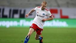 Wechselt vom Hamburger SV in die Bundesliga zu Union Berlin: Rick van Drongelen in Aktion